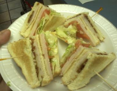 Turkey Club Sandwich - Fulgenzi's Pizza & Pasta